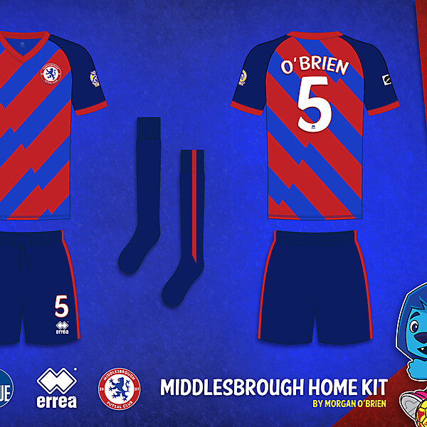 Middlesbrough Home Kit 005 by Morgan OBrien