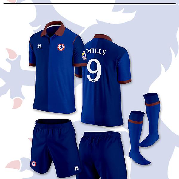Home kit Middlesbrough Futsal 2013