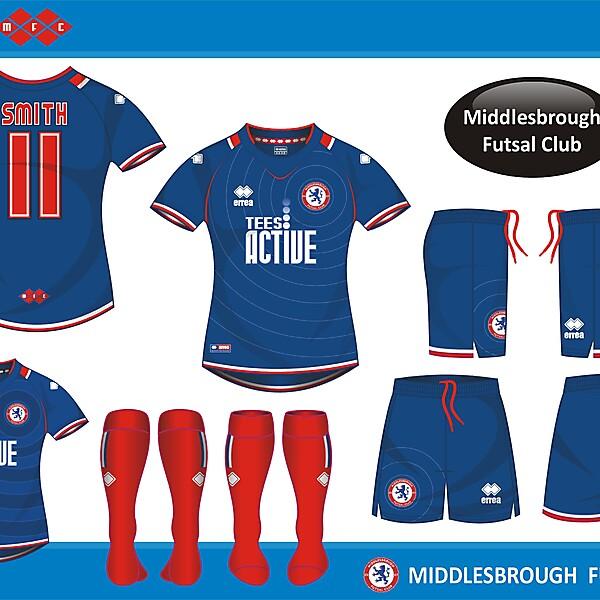 Middlesbrough Futsal Home Kit
