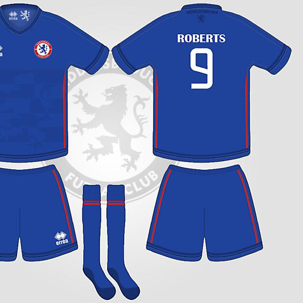 Middlesbrough Futsal Errea Home Kit