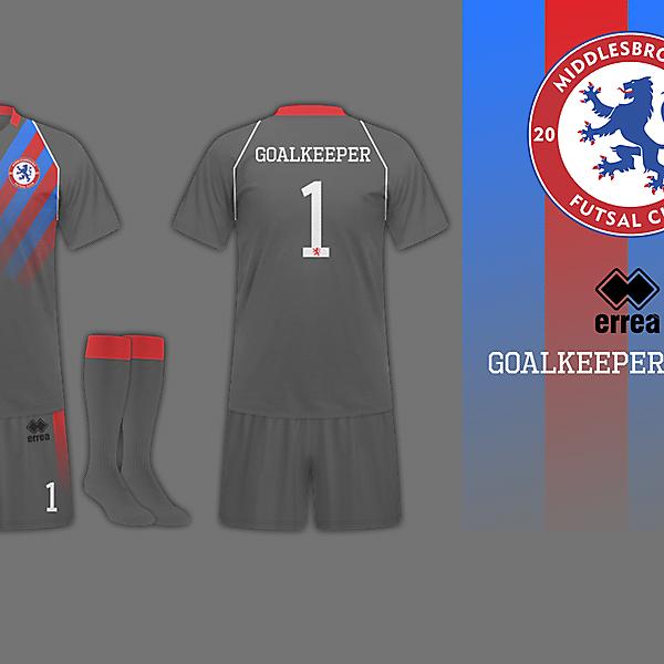 Middlesbrough Futsal Goalkeeper Kit 2013