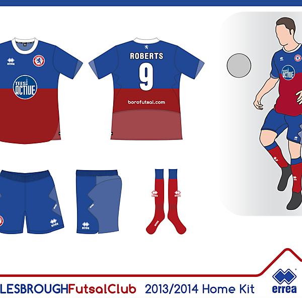 Boro Futsal Home Kit 13/14 (Seconda Proposta)