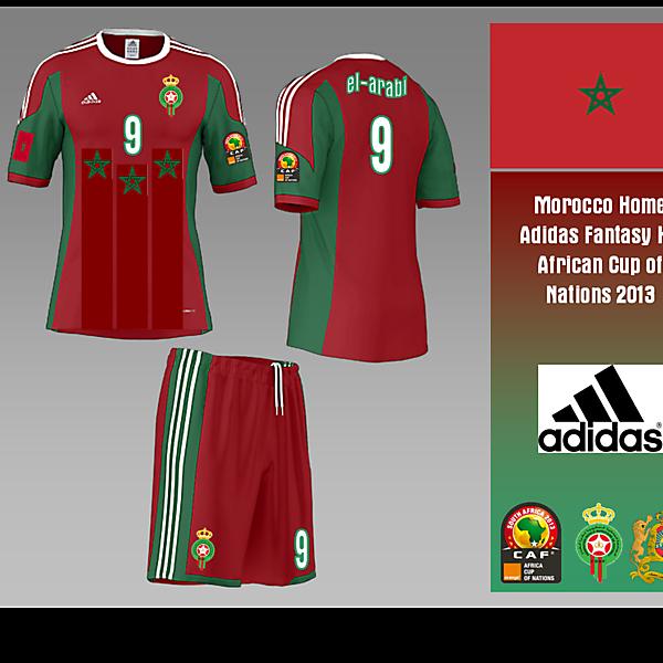 Morocco Home - Fantasy Adidas Kit
