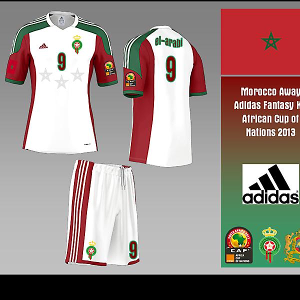 Morocco Away - Fantasy Adidas Kit