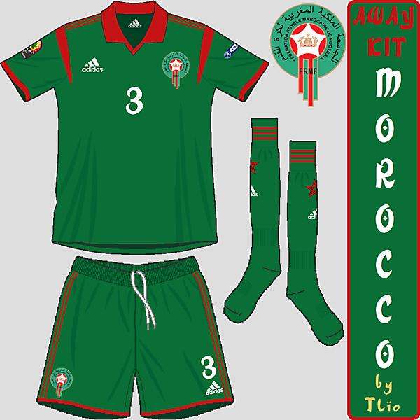 Morocco away