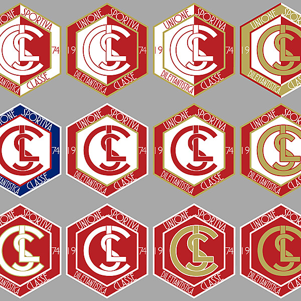 U.S.D. Classe 1974 Crest Proposals