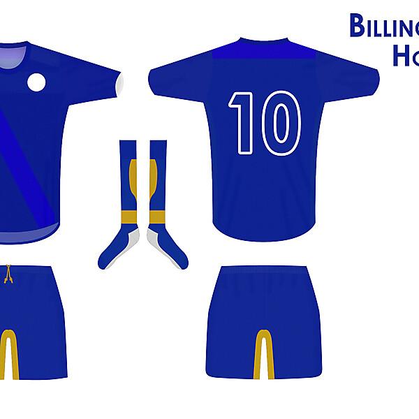 Billingbear FC Home Kit 2