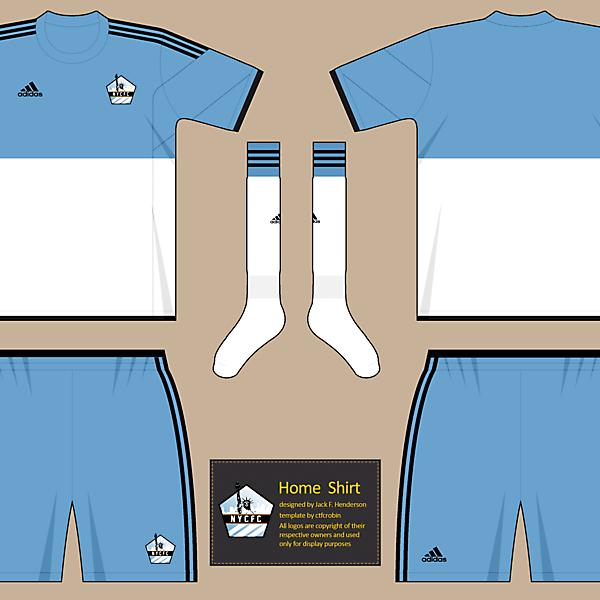 NYCFC Home shirt