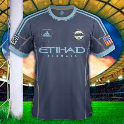 New York City FC Away Jeans Style