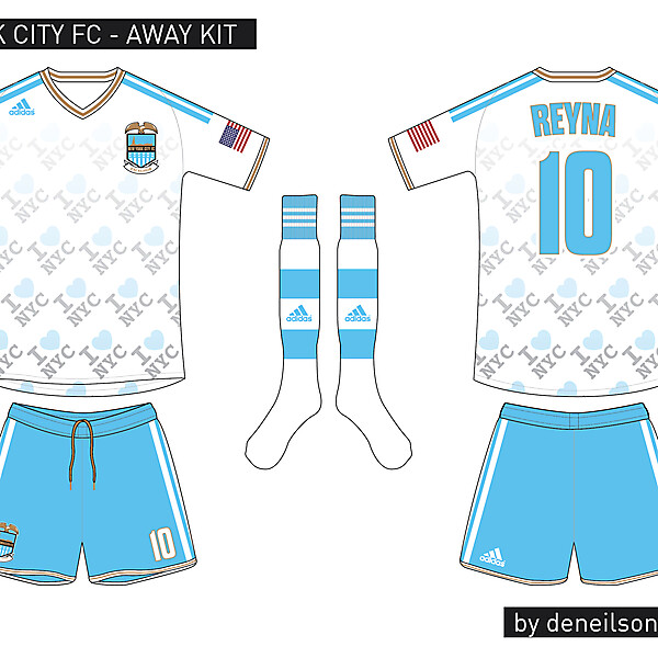 New York City FC - Away Kit