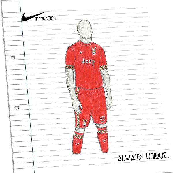 Juventus Away - Nike INSPIRATION Kit