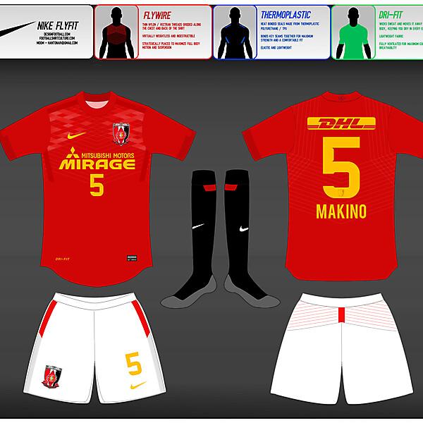 (2) Nike Fly-Fit : Urawa Red Diamonds