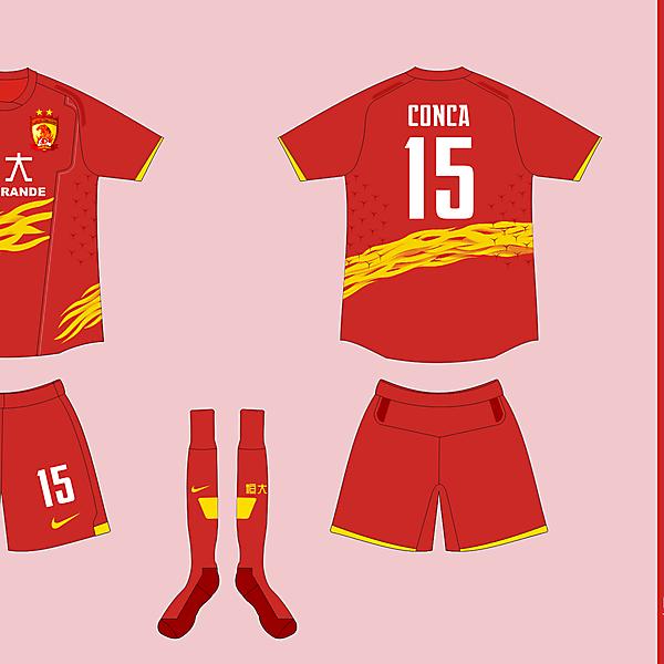 Nike Template Fiera - Guangzhou Evergrande