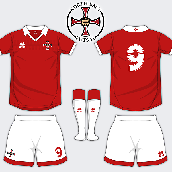 North East Futsal Home Shirt