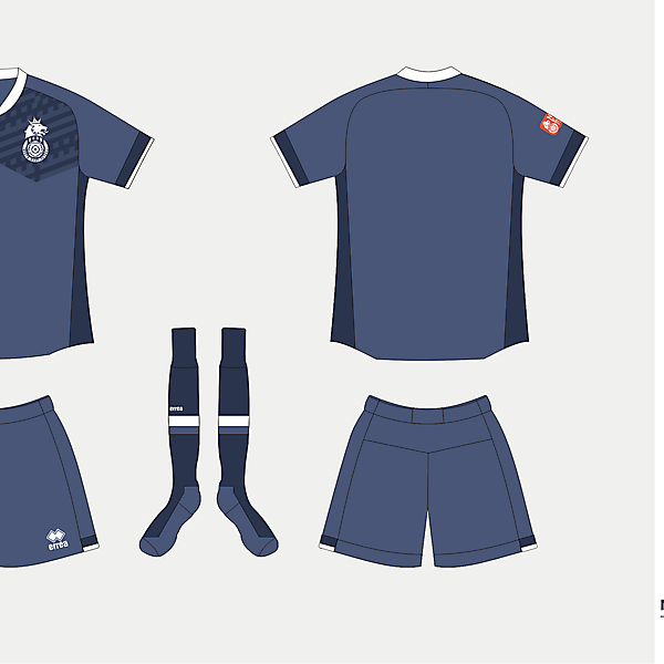 North East Futsal Shirt version 03