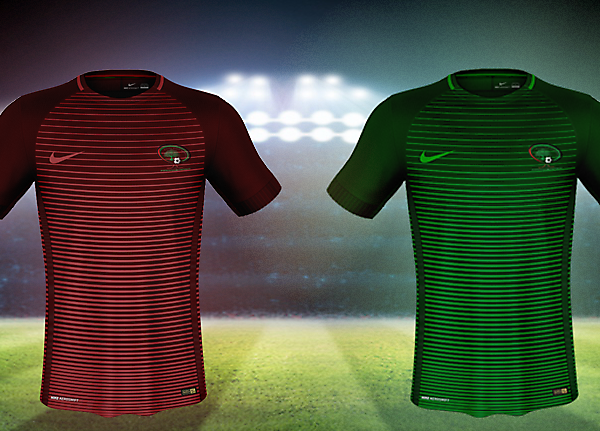 Nike Palestine Home and Away