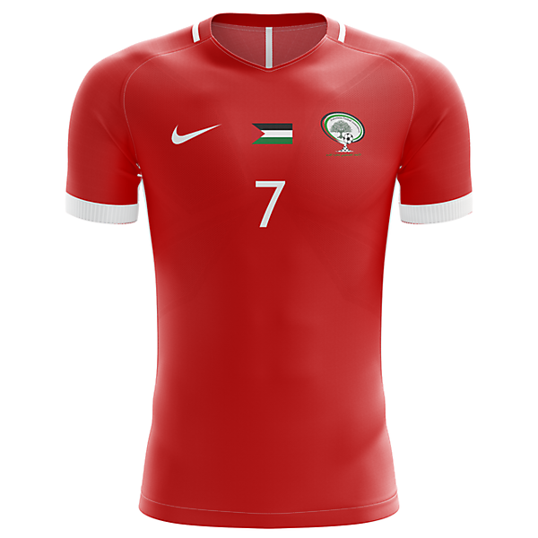 Palestine Home Shirt - Nike