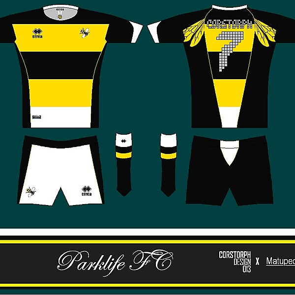 Corstorph Design 013 _X_ Matupeco Parklife Kit