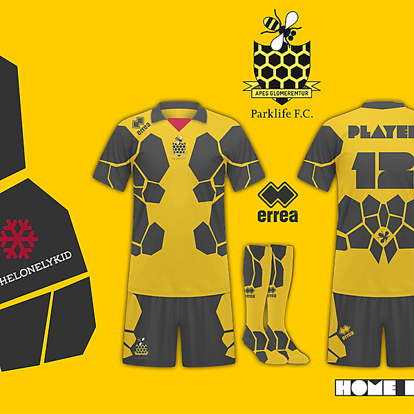 Parklife Armadura Home Kit By TheLonelyKid