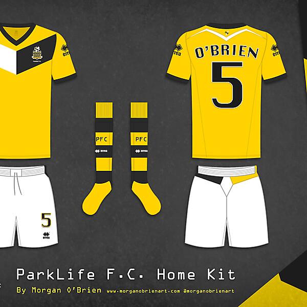 Parklife FC Home Kit 002 by Morgan O\'Brien