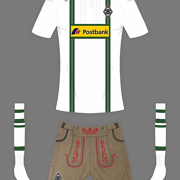 Borussia monchengladbach special edition fantasy kit