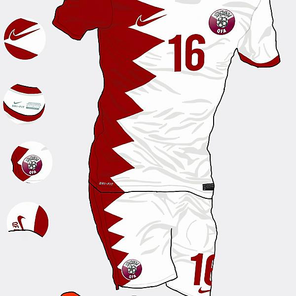 Qatar Away Kit