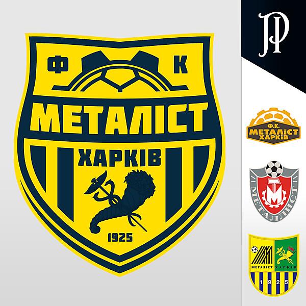 FK Metalist Kharkiv - Logo Rebrand