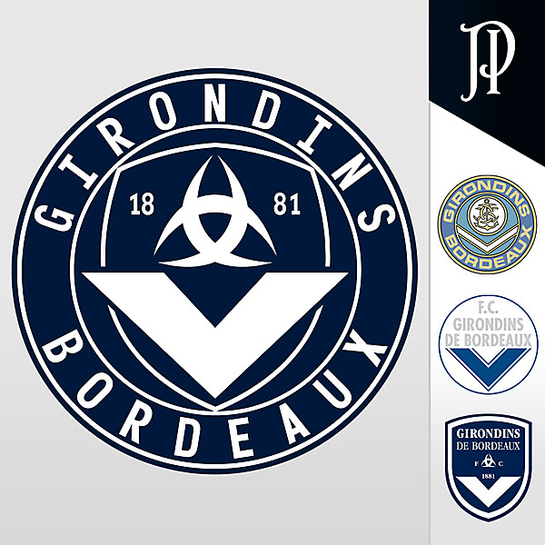 Girondins de Bordeaux - Logo Rebrand