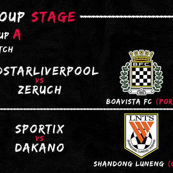 Group A - 1° Match