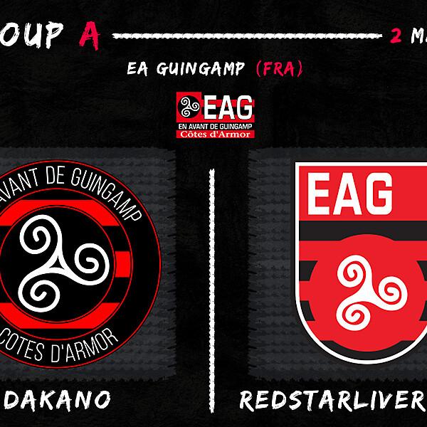 Group A - Dakano vs RedStarLiverpool