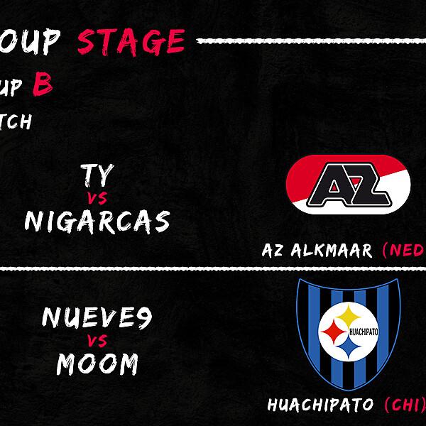 Group B - 1° Match
