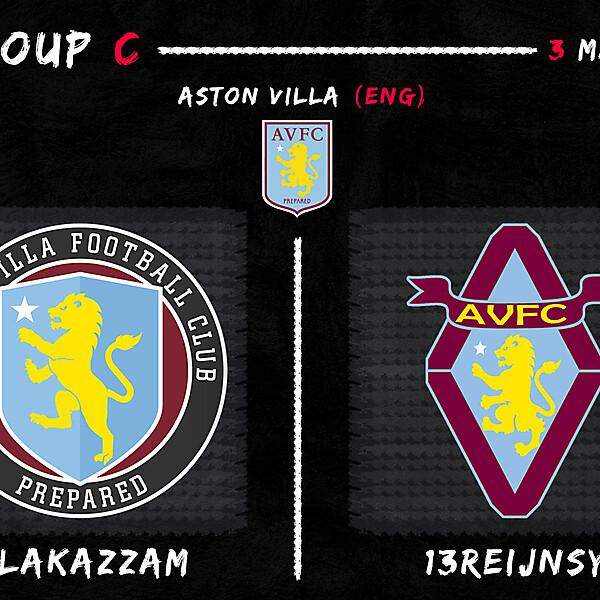 Group C - Alakazzam vs 13Reijnsy