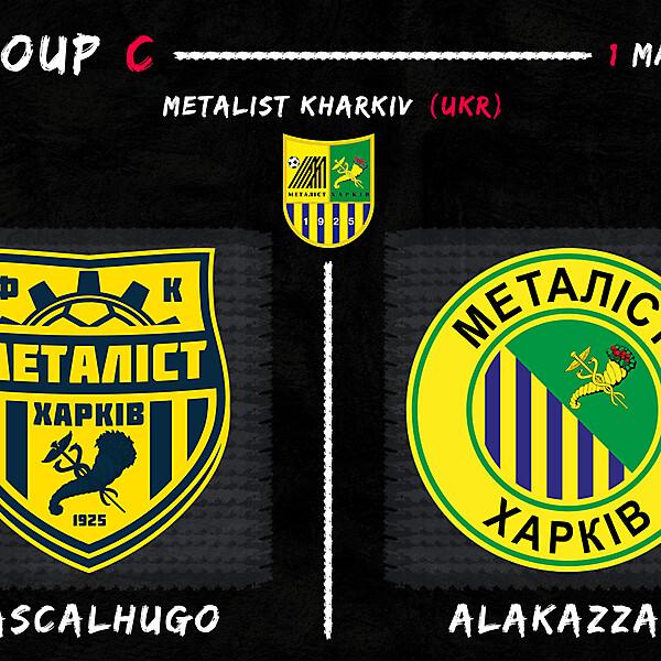 Group C - PascalHugo vs Alakazzam