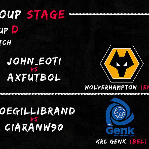 Group D - 1° Match