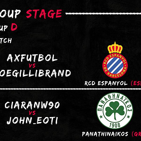 Group D - 2° Match