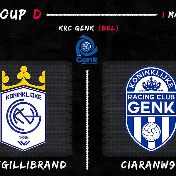 Group D - Joegillibrand vs CiaranW90