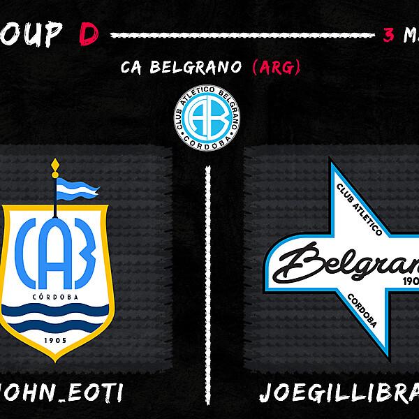 Group D - John_Eoti vs Joegillibrand