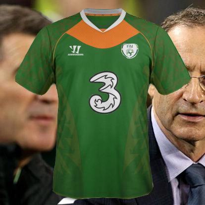 Rep Of Ireland Home Kit