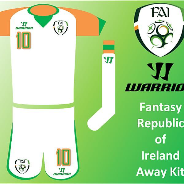 Warrior - RoI Away Kit