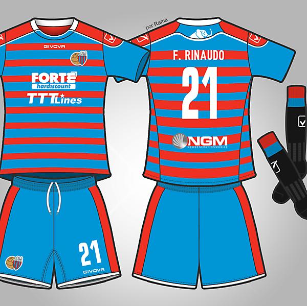 Calcio Catania - Home kit