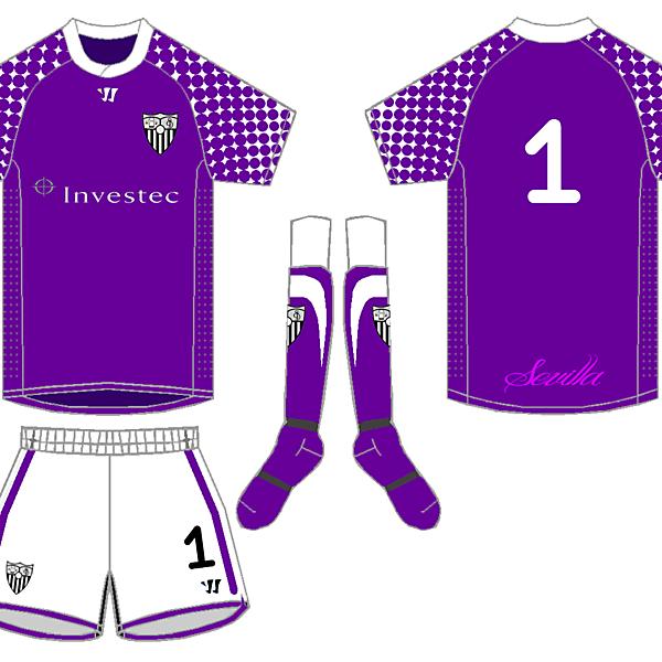 Warrior Sevilla Keeper Kit - Wighty93