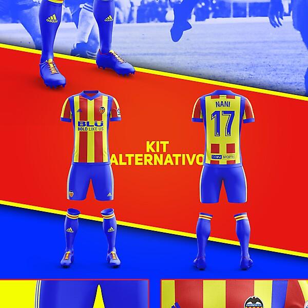 Alternative Fantasy kit Valencia CF ver 3