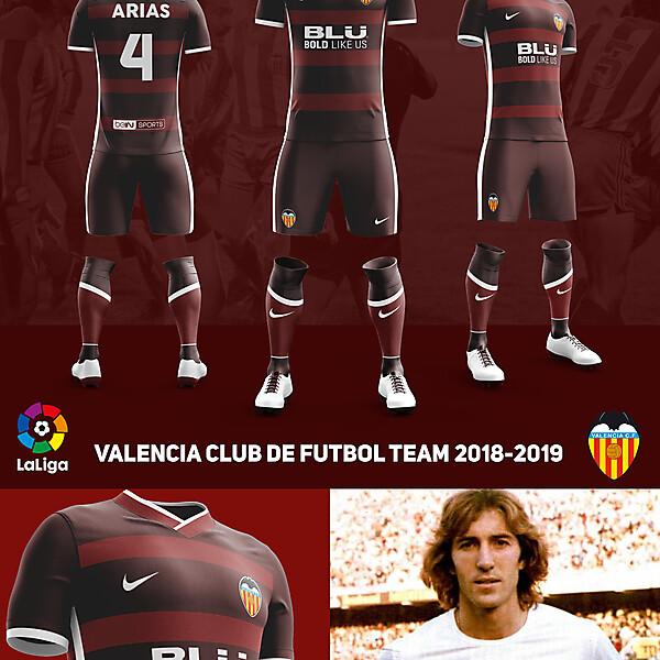 Away Fantasy Kit Valencia CF ver 5