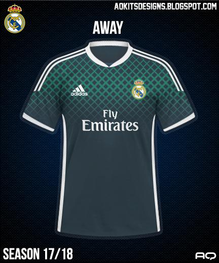 Real Madrid Away Kit Season 17/18
