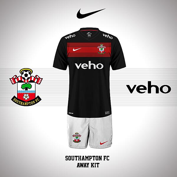 Southampton FC Away kit 14/15