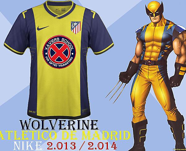Atletico Madrid-Wolverine Away