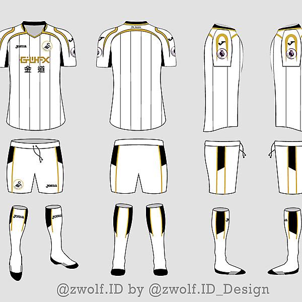 Joma Swansea City FC Home Full Kit