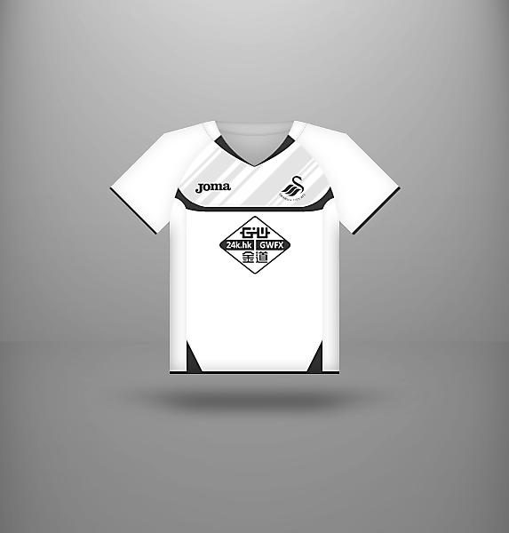 Swansea City - Home kit (Joma)