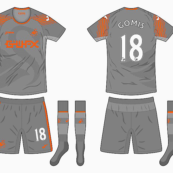 Swansea Third Kit - Joma