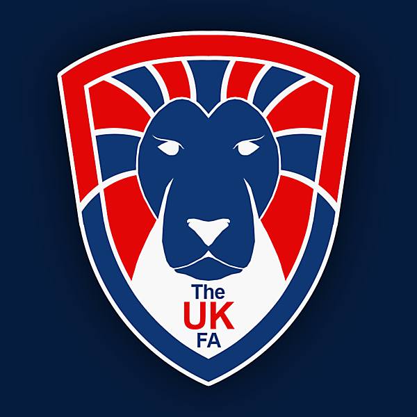 The UK FA Crest Design